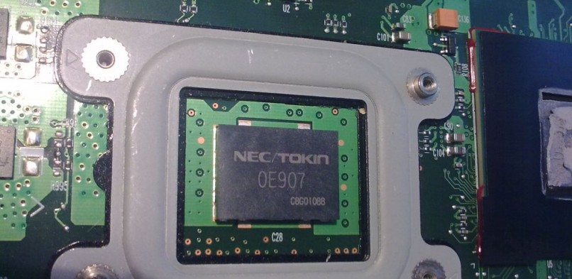 Toshiba A300 – problem NEC TOKIN