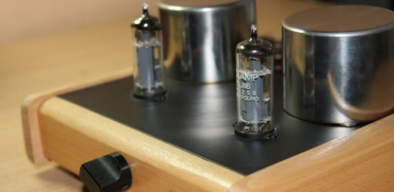 Wzmacniacz lampowy na PCL86
