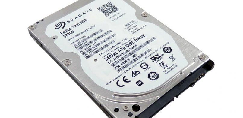 Usunięcie hasła dysku twardego Seagate ST500LT012 (Laptop Thin HDD 500GB)